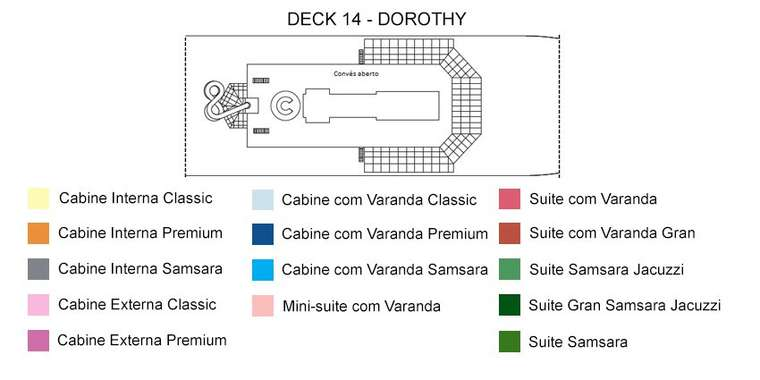 Costa Fascinosa Deck 14 Dorothy