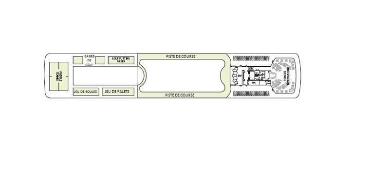 Seven Seas Mariner Pont 12