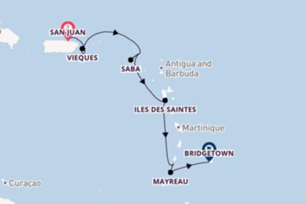 Vaar langs het waanzinnige Vieques