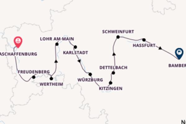 Mit Rad & Schiff bayerische Lebensfreude entlang des Mains