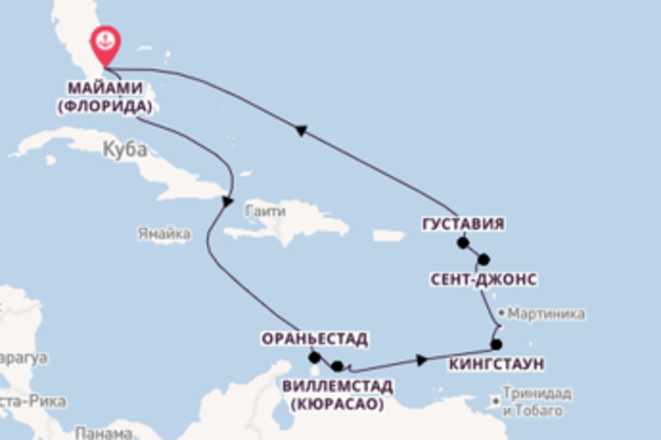 Необыкновенное путешествие на 13 дней с Oceania Cruises