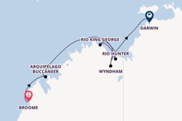 Emocionante passeio de 11 dias a bordo do Silver Explorer