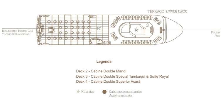 Grand Amazon Deck 5 - Terraço