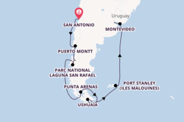 Sublime balade de 20 jours à bord du bateau Seven Seas Voyager