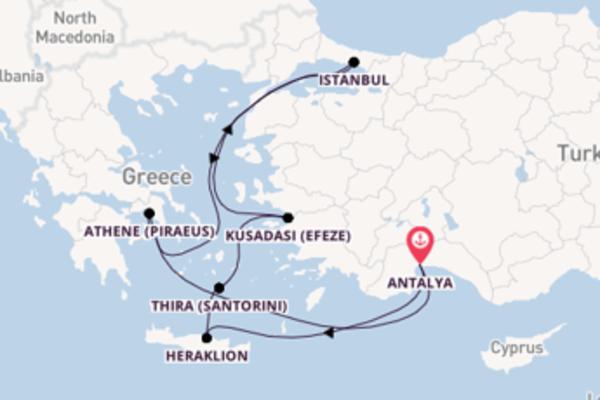In 11 dagen naar Antalya