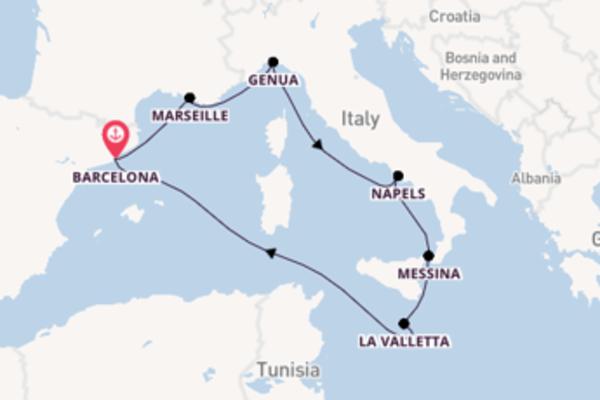 Cruise met MSC Cruises naar Napels