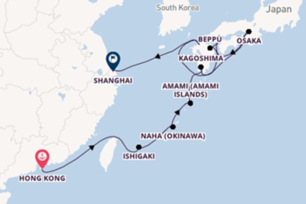 Cruising with Silversea from Hong Kong to Shanghai