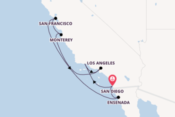 Cruise with Holland America Line  from San Diego
