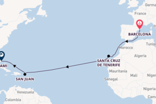 Breath-taking trip from Barcelona with Regent Seven Seas Cruises