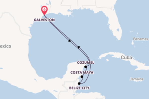 Iconic trip from Galveston with Royal Caribbean