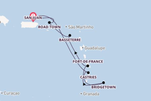 Navegando no Enchantment of the Seas por 8 dias