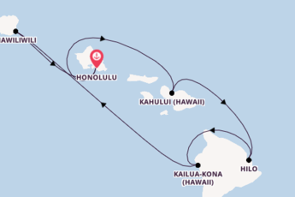 Travelling from Honolulu via Hilo