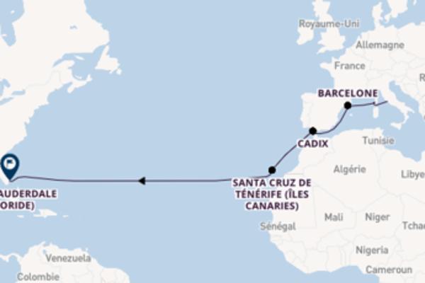 15 jours de navigation à bord du bateau Discovery Princess depuis Rome (Civitavecchia)