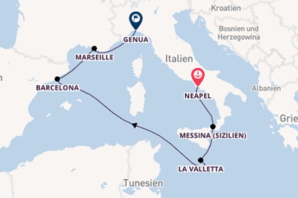 Faszinierende Reise ab Neapel