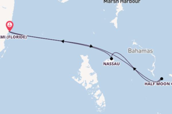 Nassau et une envoutante croisière depuis Miami