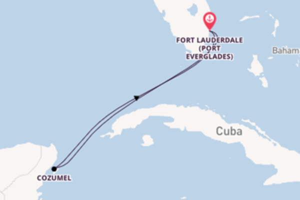 Expedition from Fort Lauderdale with the Independence of the Seas