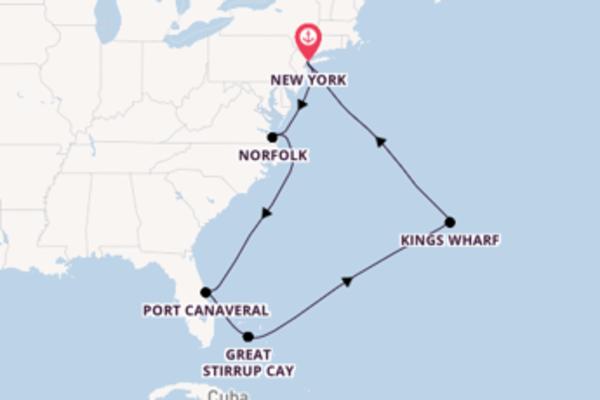Cruise met Norwegian Cruise Line naar het prachtige New York