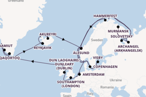 41 day expedition from Stockholm