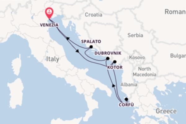 Straordinario viaggio di 6 giorni passando per Dubrovnik