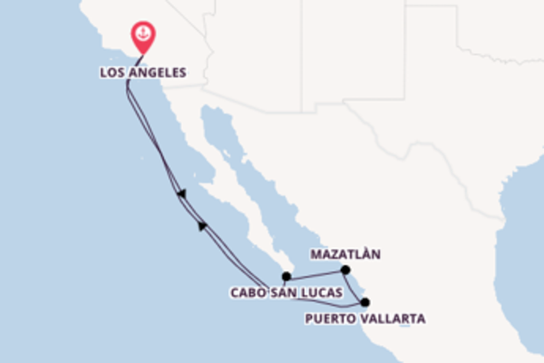 8 day cruise with the Royal Princess to Los Angeles