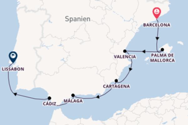 Barcelona und Valencia genießen