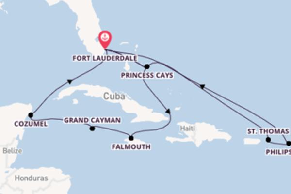 Viaggio di 15 giorni a bordo di Caribbean Princess