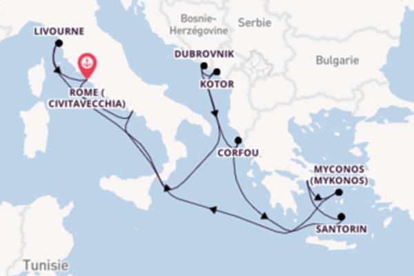 Croisière de 12 jours depuis Rome avec Norwegian Cruise Line
