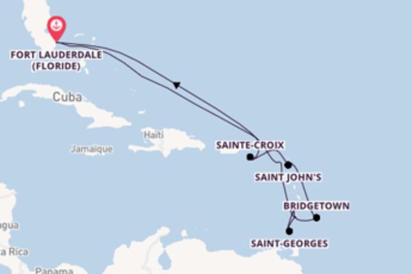 Douce balade de 13 jours à bord du bateau Celebrity Equinox