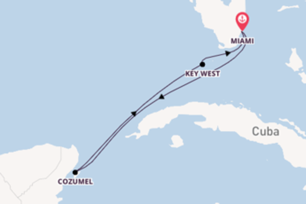 Journey from Miami with the Celebrity Infinity