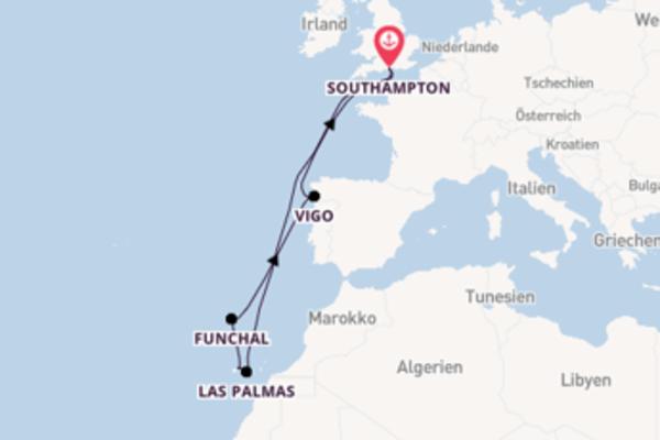 11 Tage Westeuropa Reise