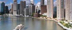 Traum über Mystery Island nach Brisbane