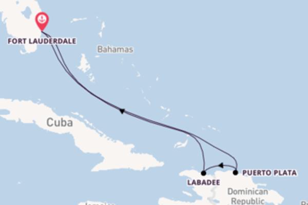 Lasciati incantare da Puerto Plata e Fort Lauderdale