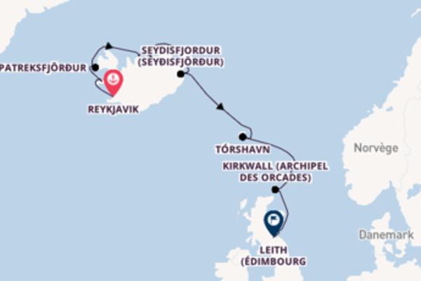 Dépaysante balade de 13 jours à bord du bateau Silver Whisper
