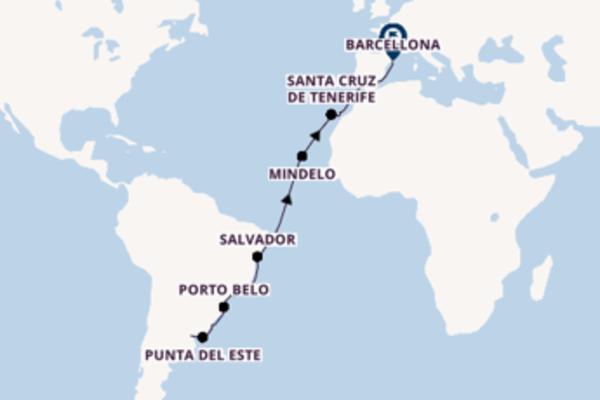 Salpando i mari da Buenos Aires