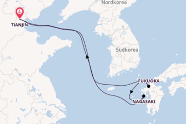 Kreuzfahrt mit der Voyager of the Seas  nach Tianjin