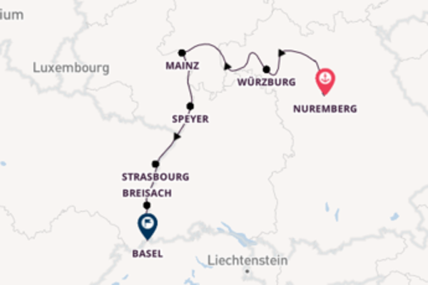 Sailing with Avalon Waterways from Nuremberg to Basel