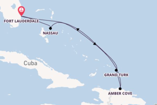 7-daagse droomcruise vanuit Fort Lauderdale