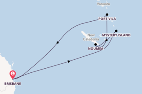 Cruise in 9 dagen naar Brisbane met Royal Caribbean