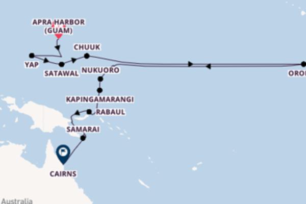 De pracht van het ongekende Tami Island