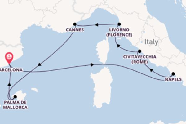 De mooiste kuststeden aan de Mediterranean