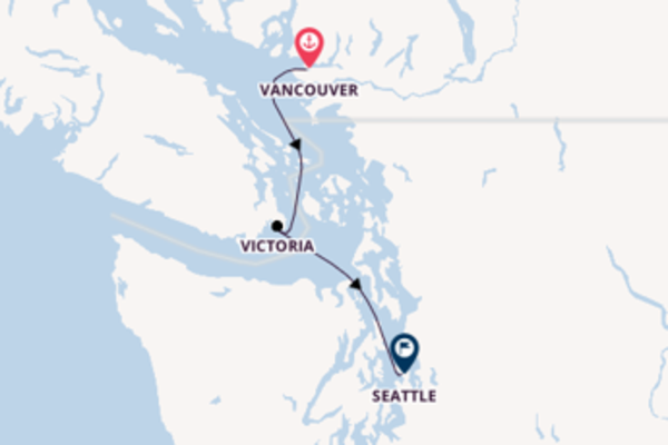 4 day journey from Vancouver