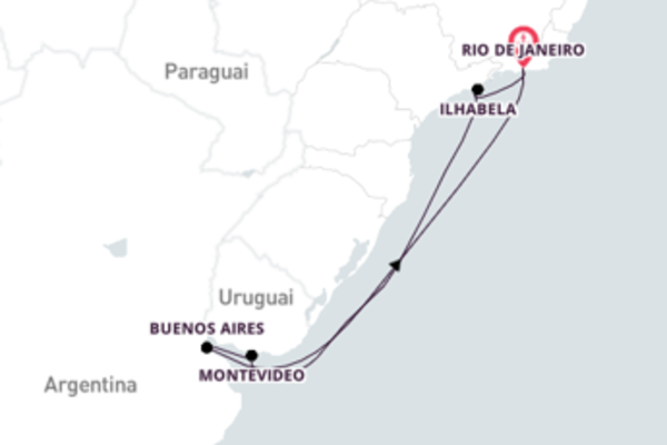 Divino passeio até Rio de Janeiro
