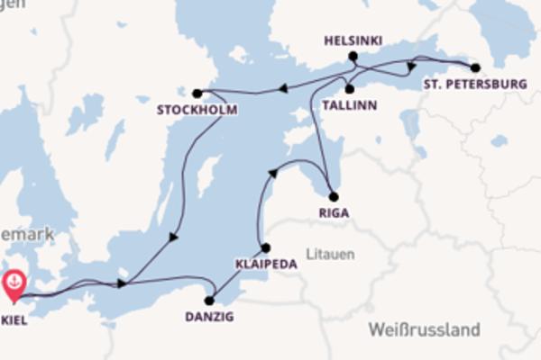 Das Baltikum – Auf den Spuren der Hanse