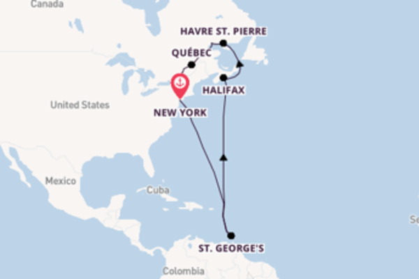 Bewonder New York, Havre St. Pierre en Montreal