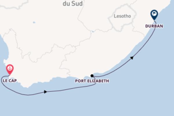 5 jours pour découvrir Port Elizabeth au départ de Le Cap