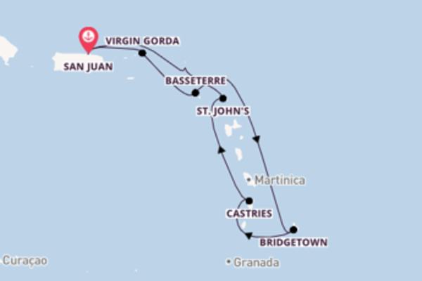 Memorável cruzeiro até San Juan