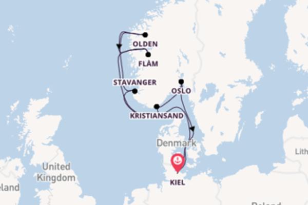 Cruise met AIDA Cruises naar Stavanger