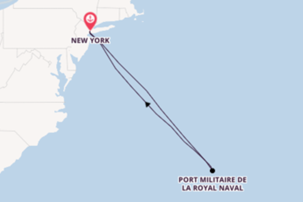 Bermudes depuis New York pour une croisière de 6 jours