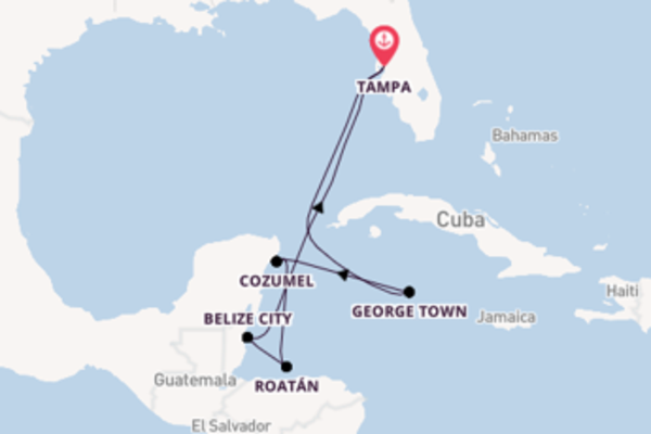 Breath-taking cruise from Tampa with Royal Caribbean