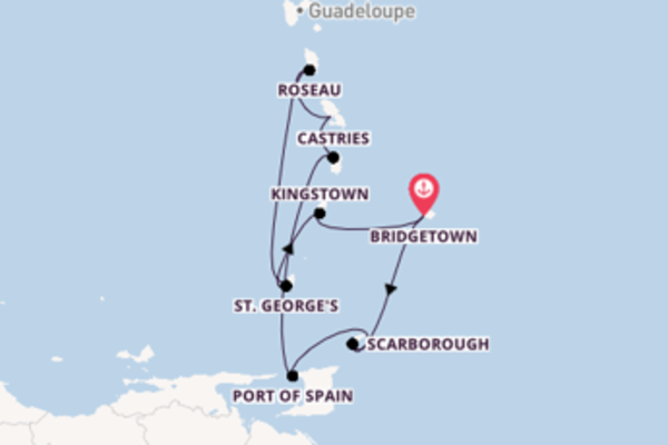 Trip with Royal Caribbean from Bridgetown